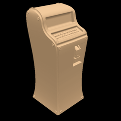 UncomfyTerminal.png Download free OBJ file Curvy Terminal • 3D printing object, Foxwarrior
