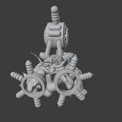 Download free 3D printer files Martian Corpuscular Electroshocker, Foxwarrior