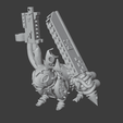 RabbitSword.png Download free OBJ file Rabbits of the Blood God • 3D printer template, Foxwarrior