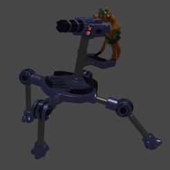YeehawJungleDragoon.png Download OBJ file Jungle Dragoon • Object to 3D print, Foxwarrior