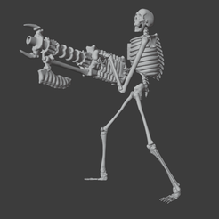 BonecronWarriorAhahahaha.png Download OBJ file Bonecron Warriors • 3D printer template, Foxwarrior