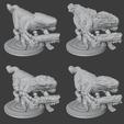 HairyXenosJoggersWithUzis.png Télécharger fichier STL gratuit Les Xenos Joggers poilus avec les Uzis • Objet pour impression 3D, Foxwarrior