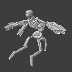 BonecronHexmarkDestroyer.png Télécharger fichier OBJ Monstre de marque du destroyer Bonecron Hex • Modèle pour imprimante 3D, Foxwarrior
