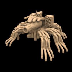 Handefiler.png Download free OBJ file Hands of Chaos: Defiler • Template to 3D print, Foxwarrior