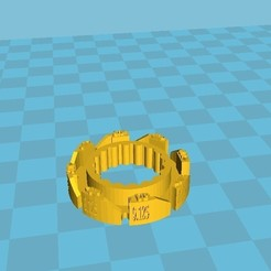 image bouton reglage plateau.jpg Download free GCODE file wheel extension resized • Model to 3D print, toursteph