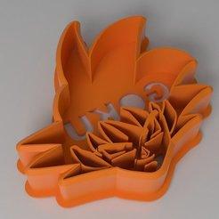 Download 3D printer designs Goku Cookie Cutter, Tinchon