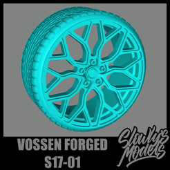 Vossen Forged S17-01.png Download free STL file Vossen Forged S17-01 • 3D print template, SlowlysModels