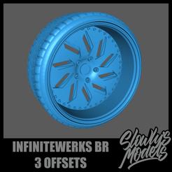 Infinitewerks BR.png Télécharger fichier STL Infinitewerks BR 3 Offsets • Modèle à imprimer en 3D, SlowlysModels