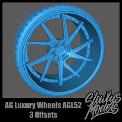 AG Luxury Wheels AGL52.png Télécharger fichier STL AG Luxury Wheels AGL52 • Design pour impression 3D, SlowlysModels