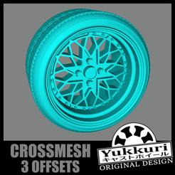 Crossmesh.png Télécharger fichier STL gratuit Yukkuri Crossmesh • Plan à imprimer en 3D, SlowlysModels