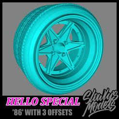 Hello Special 86.png Télécharger fichier STL gratuit Hello Special '86 • Plan imprimable en 3D, SlowlysModels