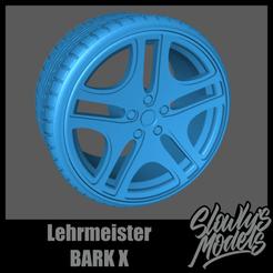 Lehrmeister BARK X.png Télécharger fichier STL Lehrmeister BARK X • Objet pour impression 3D, SlowlysModels
