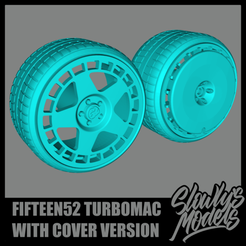 Fifteen52 Turbomac With Cover Version.png Download free STL file Fifteen52 Turbomac w/ Aero Cover Version • 3D printing design, SlowlysModels
