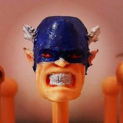 119096544_3229997033721938_7888998676686465499_o.jpg Télécharger fichier STL Doppleganger Captain America pour le corps de Marvel Legends • Plan imprimable en 3D, Hoganvibe