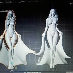 118961055_3229433790444929_5310653734426127724_o.jpg Download free STL file Vampirella Re-Remix • Template to 3D print, Hoganvibe