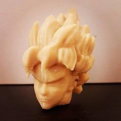 119045527_3229997040388604_5935807392137671130_o.jpg Download free STL file Goku Head Remix • 3D printing object, Hoganvibe