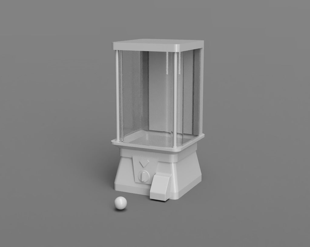 Gashapon01.png Download free STL file Gashapon • 3D printing object, itzu