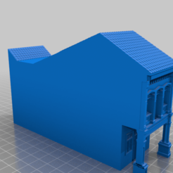 Download free 3D printer templates PERANAKAN HOUSE N SCALE, itzu