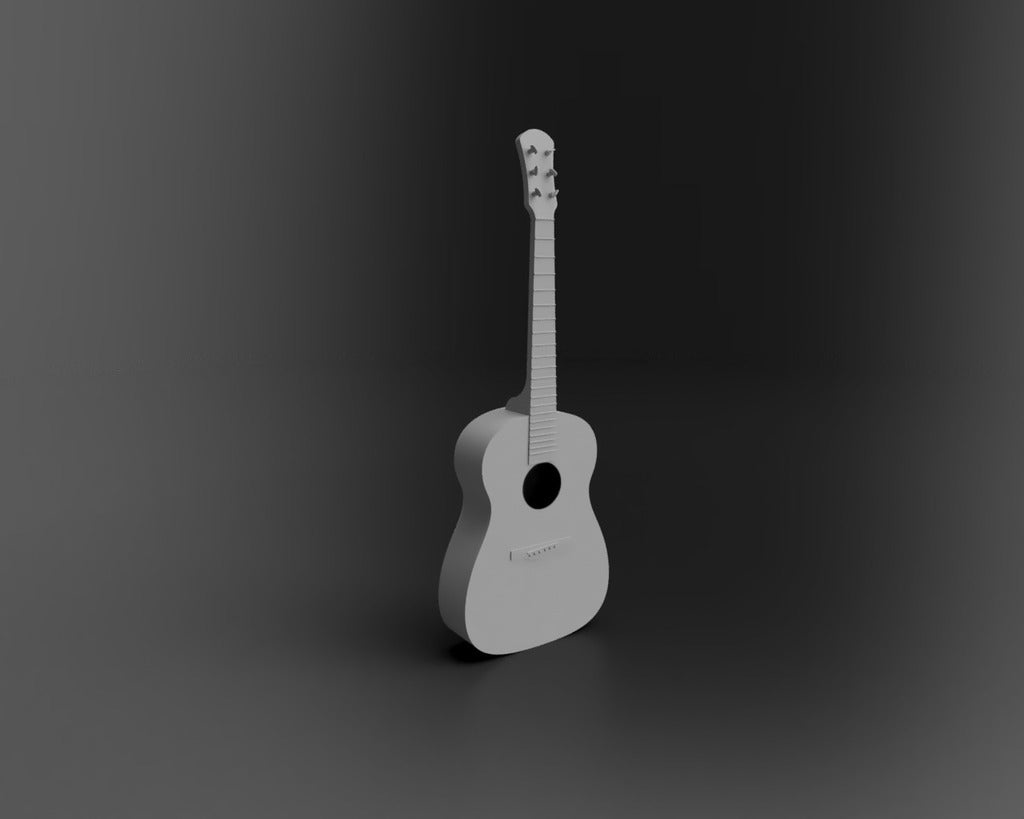 Guitar01.png Download free STL file Acoustic Guitar • Object to 3D print, itzu