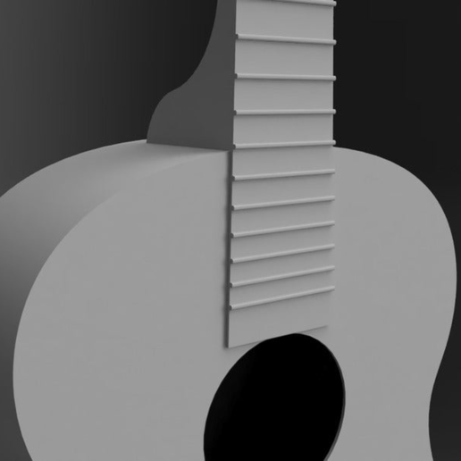 Guitar03.png Download free STL file Acoustic Guitar • Object to 3D print, itzu
