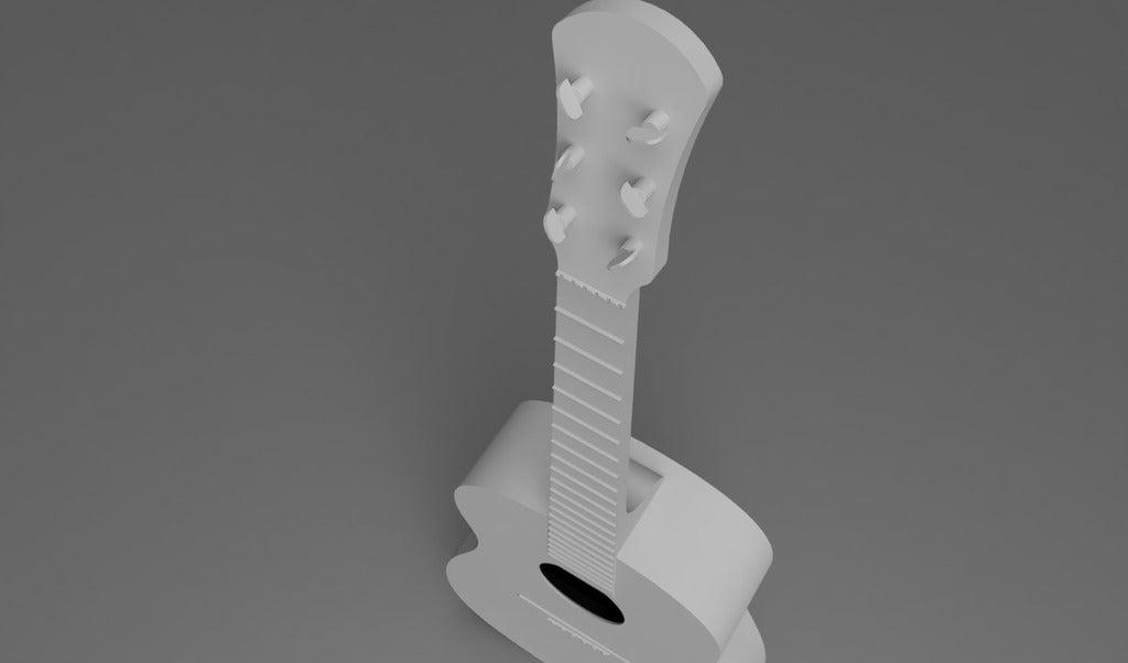 Guitar05.png Download free STL file Acoustic Guitar • Object to 3D print, itzu