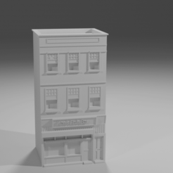 Download free 3D printing templates Ken's Fish Bar (N Scale), itzu