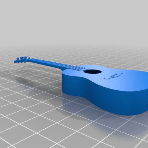 5500b5bb90711a50a02c4fbadb087615.png Download free STL file Acoustic Guitar • Object to 3D print, itzu