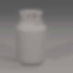 Télécharger fichier STL gratuit Réservoir de gaz GPL • Design imprimable en 3D, itzu