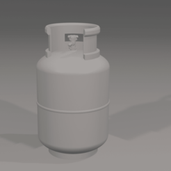 Download free 3D print files LPG Gas Tank, itzu