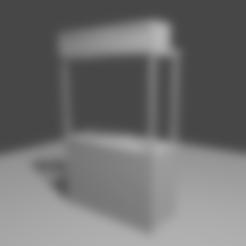 Télécharger fichier STL gratuit Stalle du Street Hawker • Design à imprimer en 3D, itzu