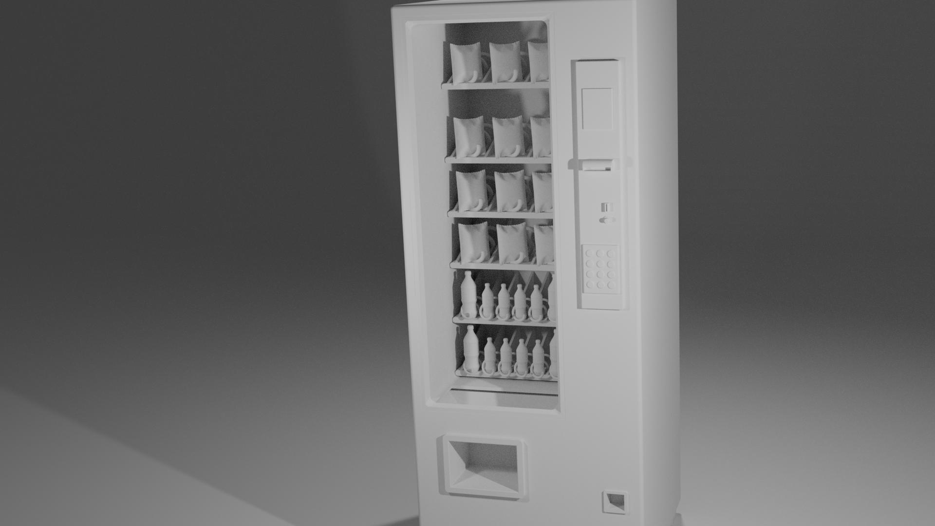 Vending machine 02.png Download free STL file Scale Model Vending Machine • Design to 3D print, itzu