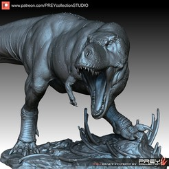 Download 3D printer files T-REX, PREYcollectionSTUDIO