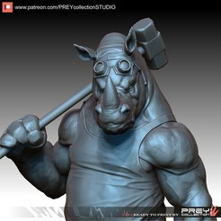 Download 3D printer files ROCKSTEADY 1-10 SCALE, PREYcollectionSTUDIO