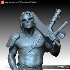 Download 3D printing designs CASEU JONES 1-10 SCALE, PREYcollectionSTUDIO