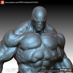 Download 3D printer model VENOM 1-10 scale, PREYcollectionSTUDIO