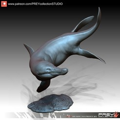 Download 3D printing models KRONOSAURUS, PREYcollectionSTUDIO