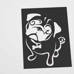 Descargar diseños 3D Dog Stencil  ---- Stencil de perro, lautybovavidela