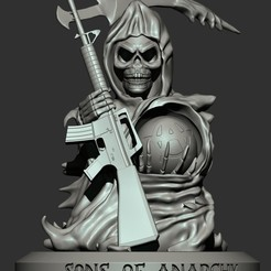 WhatsApp Image 2020-08-21 at 16.21.28.jpeg Download STL file Sons of Anarchy • 3D printer design, famadvb