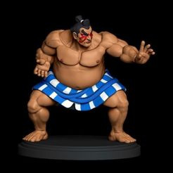 IMG_20200802_102458_049.jpg Download STL file E-Honda Street Fighter • 3D printing template, famadvb