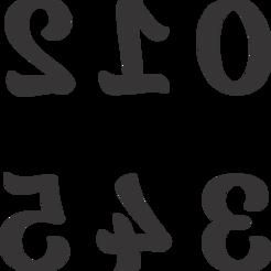 Numeros BaliScrip (0-5).png Download STL file 3.5cm BaliScrip Number Cutter • 3D printer template, LeoAdrian24