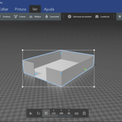 Captura de pantalla (32).png Descargar archivo STL Contenedor de hojas tamaño carta • Modelo para la impresión en 3D, maolprgo2001