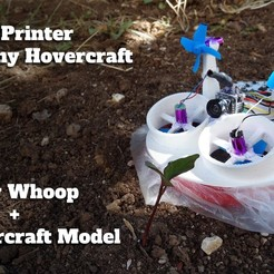 Download free 3D printer files Tiny Whoop Hovercraft + Racing Edition V2, andre_98carvalho