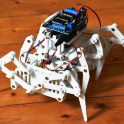 Download free 3D printing files Octoped Robot - KL-20 - contolled with Arduino, robertohamm2