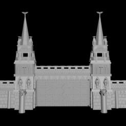 whole citadel.jpg Télécharger fichier STL Modèle d'impression 3D de la forteresse impériale • Objet imprimable en 3D, ProxyHammer
