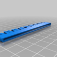 Download free 3D printer designs Kyosho Blizzard track extension paddle X, source8