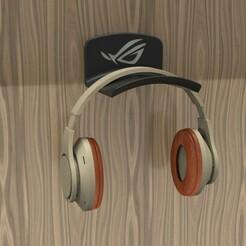 untitled.234.jpg Télécharger fichier STL PORTE-TÊTE ASUS ROG / soporte audifonos • Plan pour impression 3D, JGSerey