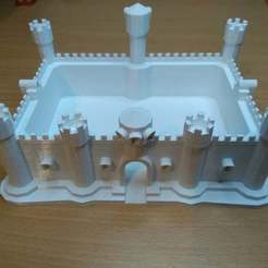 Download free 3D printing templates Castle repaired, muse_sriuboj