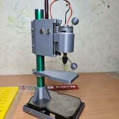 20201128_133201.jpg Download free STL file Mini Drill Press for PCB • 3D printable template, muse_sriuboj