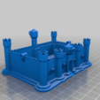 Télécharger fichier OBJ gratuit Château réparé • Objet pour impression 3D, muse_sriuboj
