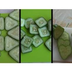 41ba193153007b7935c247eb2b6eda2a_preview_featured.jpg Download free STL file Fruit mold (triangle, square, heart) • 3D print template, muse_sriuboj